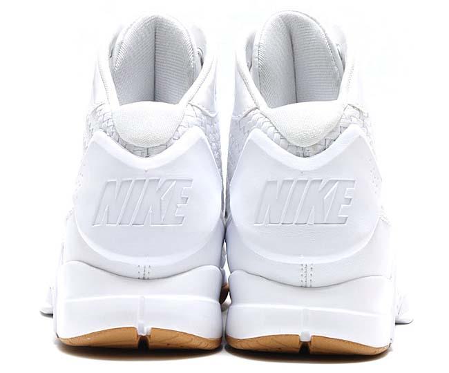 NIKE HYPERDUNK LUX [WHITE / WHITE-GUM LIGHT BROWN] 818137-100