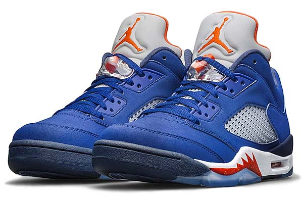 NIKE AIR JORDAN 5 RETRO LOW [DEEP ROYAL BLUE / TEAM ORANGE-MIDNIGHT NAVY-ATOMIC ORANGE] 819171-417