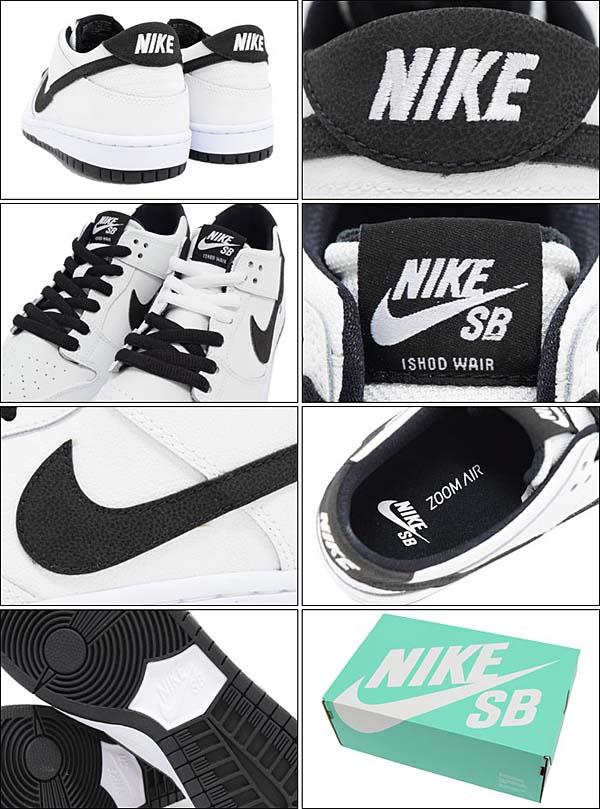 NIKE DUNK LOW PRO SB IW [WHITE / BLACK-WHITE] 819674-101