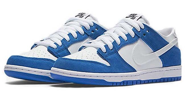 NIKE DUNK LOW PRO SB IW [BLUE SPARK / WHITE-BLACK] 819674-410