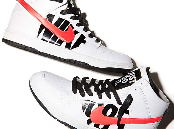 NIKE DUNK LUX x UNDFTD [WHITE / INFRARED BLACK] 826668-160