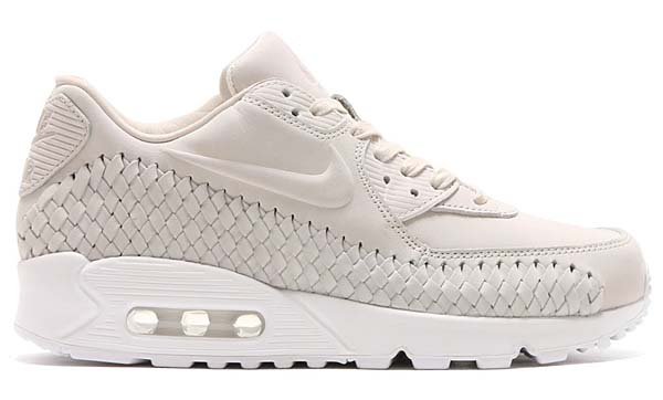 NIKE AIR MAX 90 WOVEN [PHANTOM / PHANTOM-WHITE] 833129-002