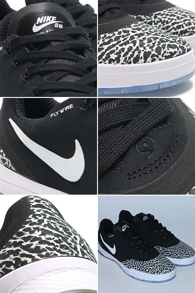 NIKE PAUL RODRIGUEZ 9 ELITE T ROAD PACK [BLACK / WHITE] 833902-001