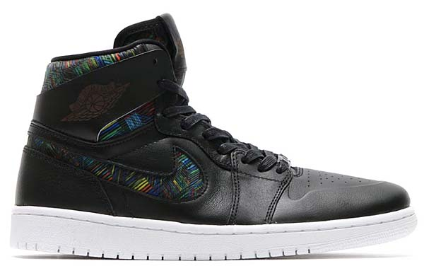 NIKE AIR JORDAN 1 RETRO HIGH NOUV BHM [BLACK / WHITE-BLACK-VOLTAGE GREEN] 836749-045