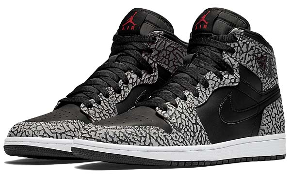 NIKE AIR JORDAN 1 RETRO HIGH [BLACK / GYM RED-CEMENT GREY-ANTHRACITE-WHITE] 839115-013