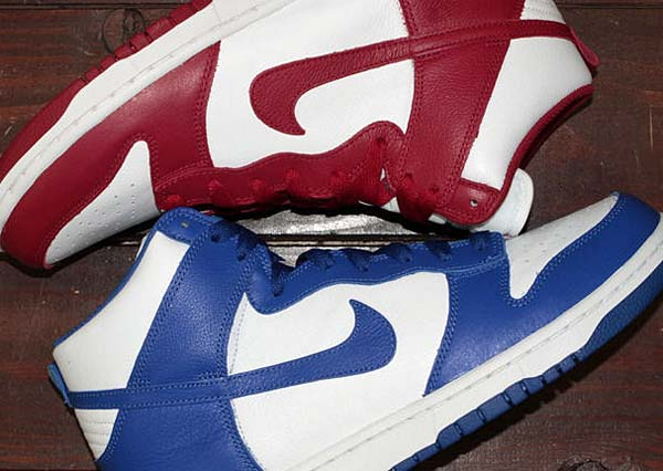 NIKE DUNK RETRO QS [WHITE / VARSITY ROYAL] 850477-100