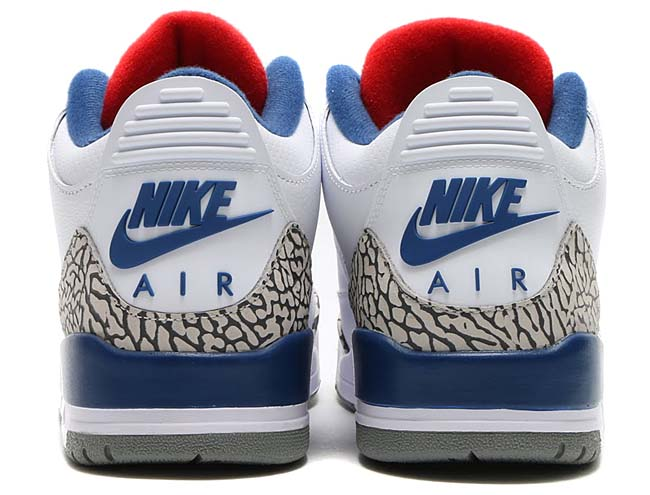 NIKE AIR JORDAN 3 RETRO OG [WHITE / FIRE RED-TRUE BLUE-CEMENT GREY] 854262-106