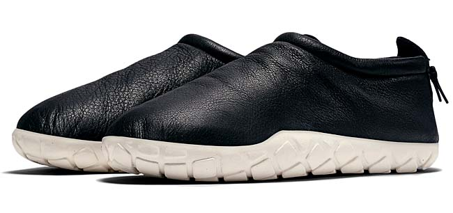 NIKE AIR MOC BOMBER [BLACK/WHITE] 862439-001