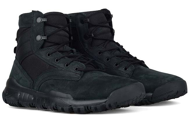"NIKE SFB FIELD 6"" LEATHER BOOT [BLACK] 862507-001"
