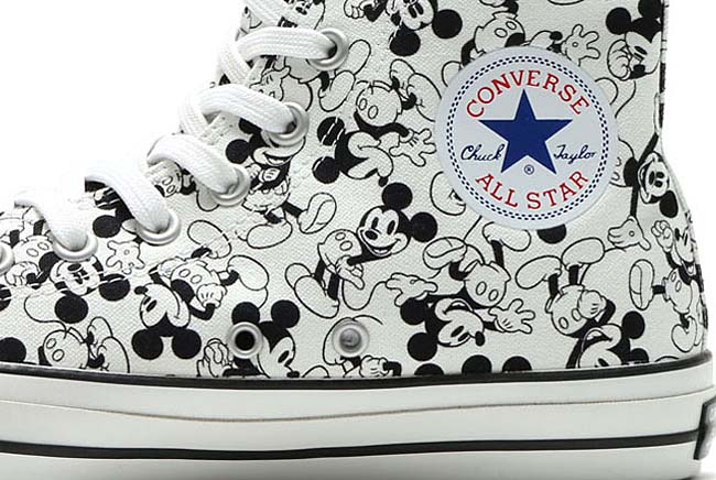 CONVERSE ALL STAR 100 MICKEY MOUSE PT HI [WHITE/BLACK] 32960631