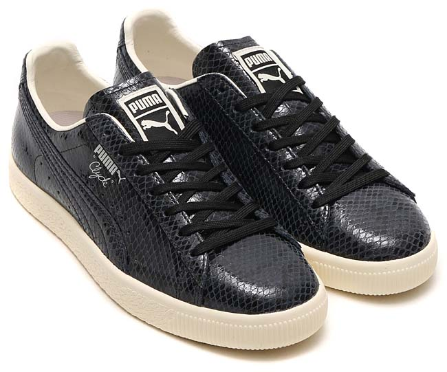 Puma CLYDE SNAKE [PUMA BLACK / WHISPER WHITE] 363247-01