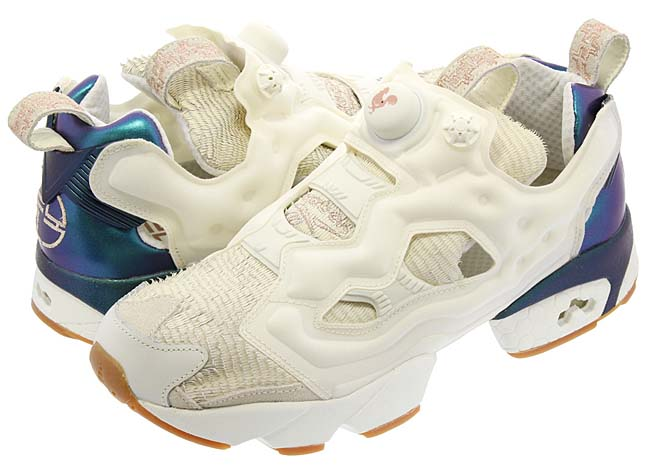 """Reebok INSTAPUMP FURY CNY2017 """"YEAR OF THE ROOSTER"""" [CHALK / CLASSIC WHITE / ROSE GOLD] BD2026"""
