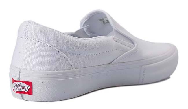 VANS SLIP-ON PRO [WHITE / WHITE] VN0A347VWW