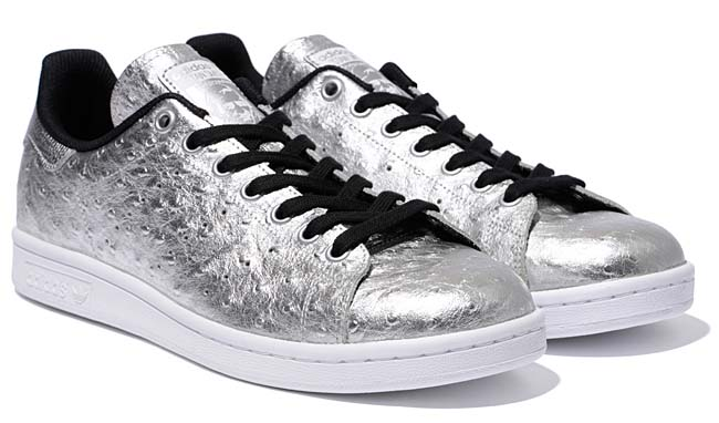 adidas Orignals STAN SMITH [METALLIC SILVER / CORE BLACK / RUNNING WHITE] AQ4706