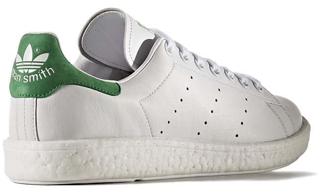 adidas STAN SMITH BOOST [RUNNING WHITE / GREEN] BB0008