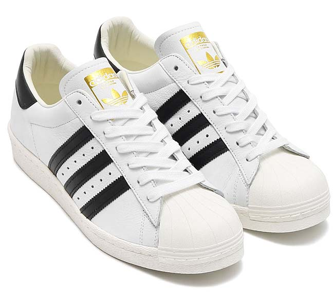 adidas Originals SUPERSTAR BOOST [RUNNING WHITE / CORE BLACK / GOLD METT] BB0188