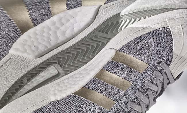 adidas Originals SUPERSTAR BOOST PK NM [SOLID GREY / GOLD / WHITE] BB8973
