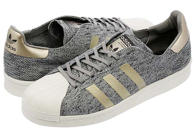 adidas Originals SUPERSTAR BOOST PK NM [SOLID GREY / GOLD / WHITE] BB8973