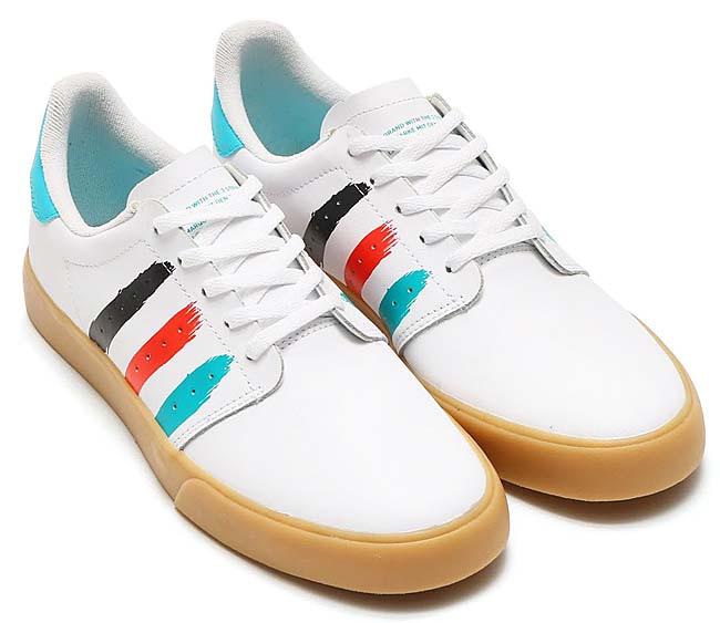 adidas Originals SEELEY COURT [RUNNING WHITE / ENERGY BLUE / ENERGY] BW0659