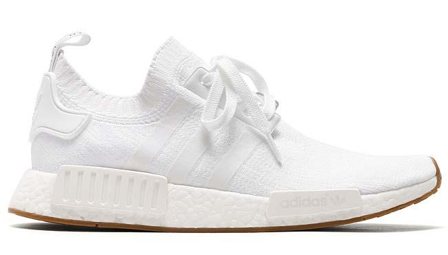 adidas Originals NMD_R1 PK [RUNNING WHITE / RUNNING WHITE / GUM] BY1888