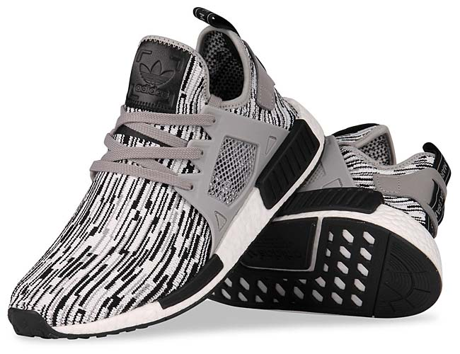 "adidas NMD XR1 PK ""GLITCH CAMO"" [Core Black / Multi Solid Grey / Footwear White] BY1910"