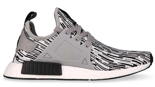 """adidas NMD XR1 PK """"GLITCH CAMO"""" [Core Black / Multi Solid Grey / Footwear White] BY1910"""