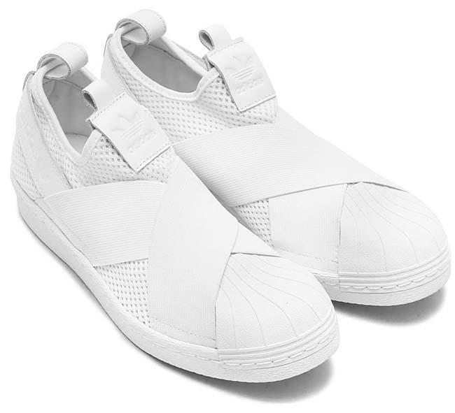 adidas Originals SUPERSTAR SLIPON W [RUNNING WHITE  / CORE BLACK] BY2885