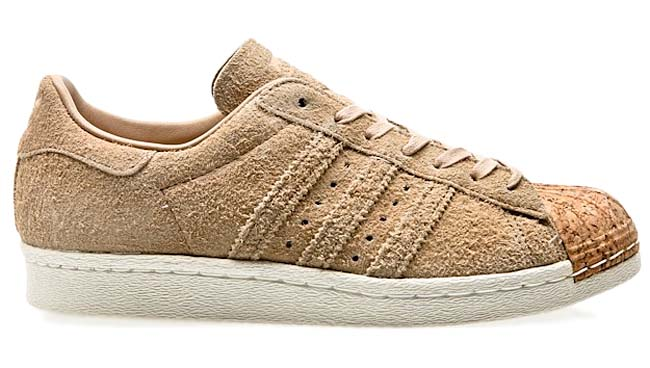 adidas Originals SUPERSTAR 80s CORK [PALE NUDE / OFF WHITE] BY2962