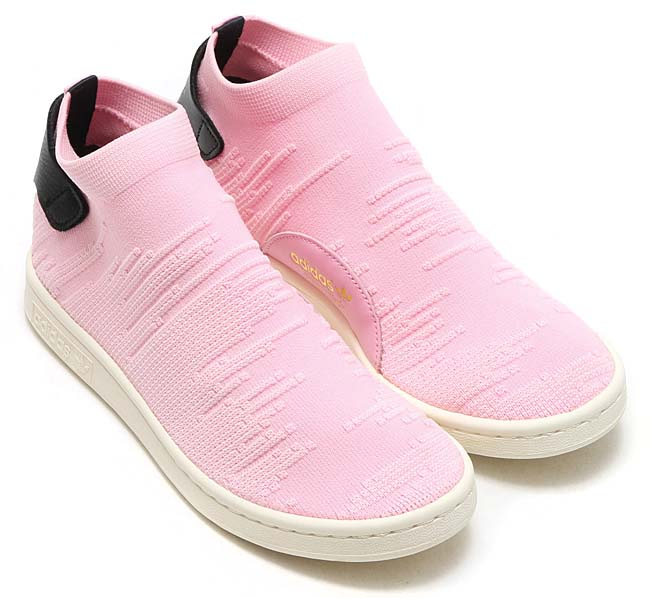 adidas Originals STAN SMITH SOCK PK W [PINK] BY9250