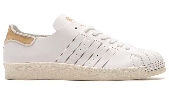 adidas Originals SUPERSTAR 80s DECON [RUNNING WHITE / RUNNING WHITE / VINTAGE WHITE] BZ0109