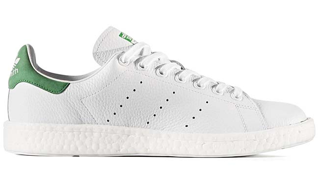 adidas Originals STAN SMITH Boost [RUNNING WHITE / GREEN] BZ0528