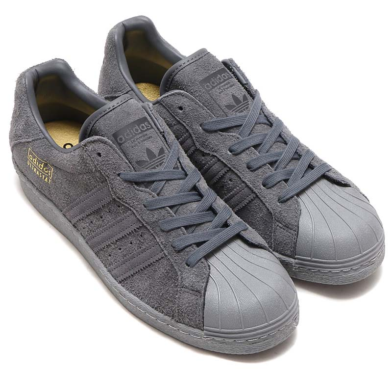 adidas Originals ULTRASTAR 80s [GREY FIVE / UTILITY BLACK / GREY THREE] BZ0536