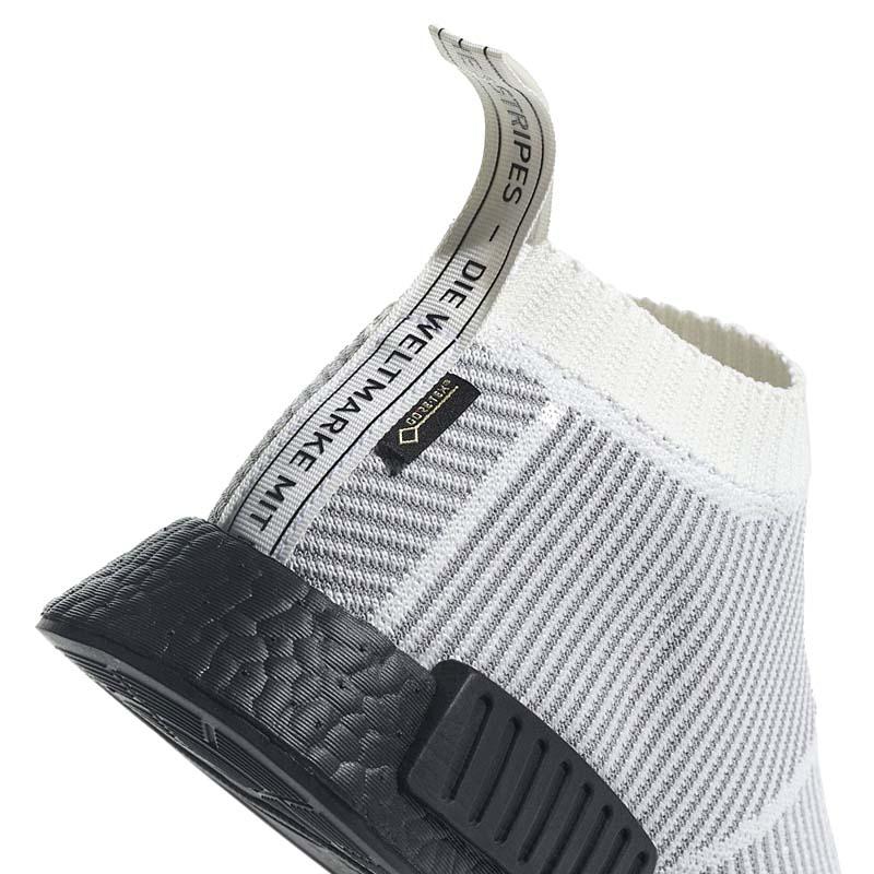 adidas Originals NMD CS1 GORE-TEX PK [CORE WHITE / CORE WHITE / CORE BLACK] by9404