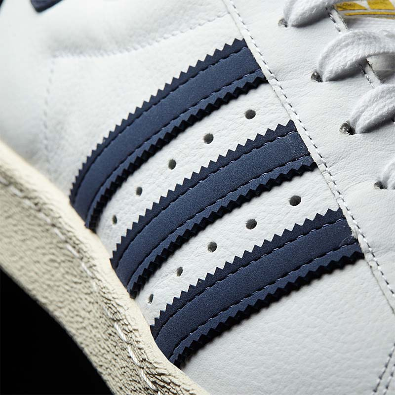 adidas SUPER STAR [RUNNING WHITE / TRACE BLUE / GREY] bz0145