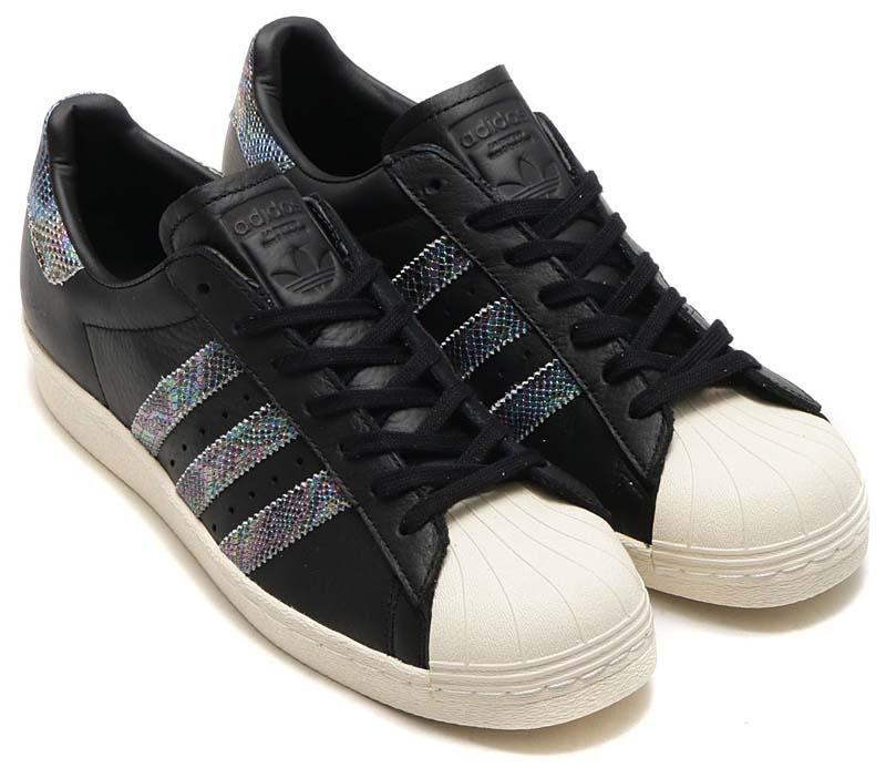 adidas Originals SUPERSTAR 80s [CORE BLACK / CORE BLACK / CORE BLACK] bz0147