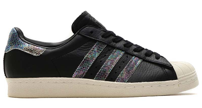 adidas Originals SUPERSTAR 80s [CORE BLACK / CORE BLACK / CORE BLACK] bz0147