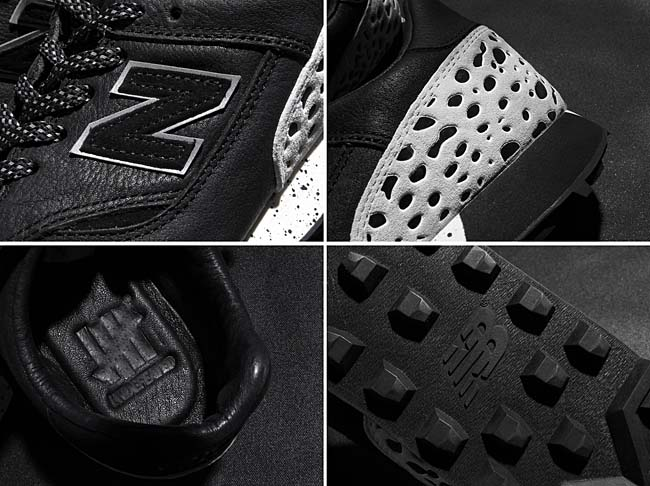 new balance x UNDEFEATED TBTB UD [BLACK / WHITE] TBTB