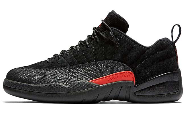 NIKE AIR JORDAN 12 RETRO LOW [BLACK / MAX ORANGE-ANTHRACITE] 308317-003