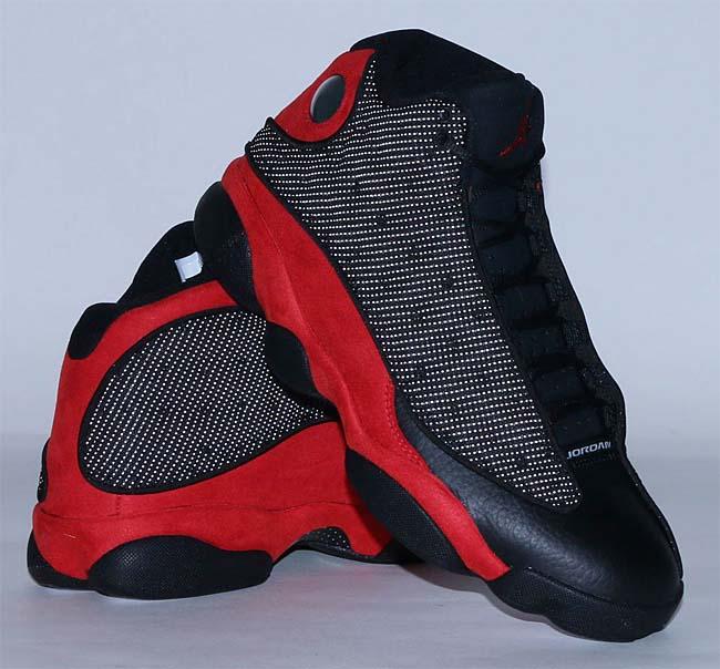 NIKE AIR JORDAN 13 RETRO [BLACK / TRUE RED-WHITE] 414571-004
