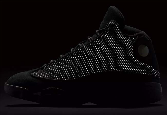 NIKE AIR JORDAN 13 RETRO BLACK CAT [BLACK / BLACK-ANTHRACITE] 414571-011
