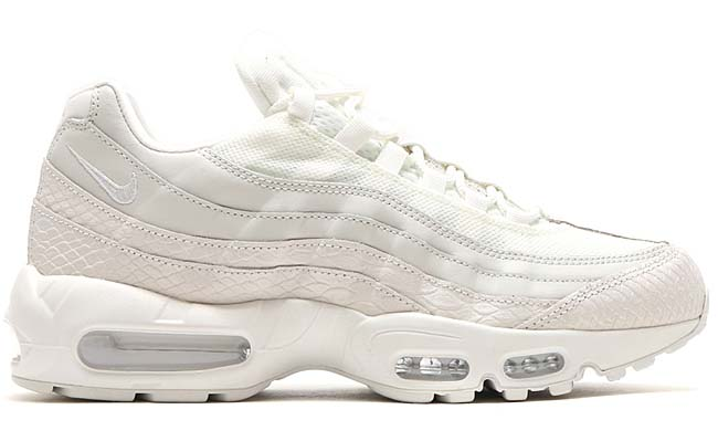 "NIKE AIR MAX 95 PRM ""SUMMER SCALES"" [SUMMIT WHITE / SUMMIT WHITE-SUMMIT WHITE] 538416-100"