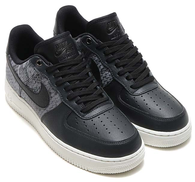NIKE AIR FORCE 1 LOW 07 LV8 Snake Pack [ANTHRACITE / BLACK-SUMMIT WHITE] 823511-003