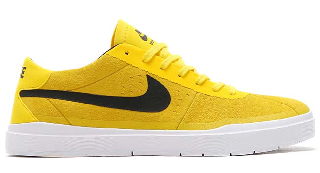 NIKE SB BRUIN HYPERFEEL [TOUR YELLOW / BLACK-WHITE] 831756-701