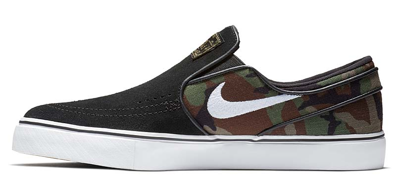 NIKE SB ZOOM STEFAN JANOSKI SLIP [BLACK / WHITE-MULTI-COLOR] 833564-003