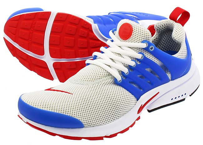 NIKE AIR PRESTO ESSENTIAL [DUSTY GREY / UNIVAESITY RED / HYPER COBALT] 848187-004