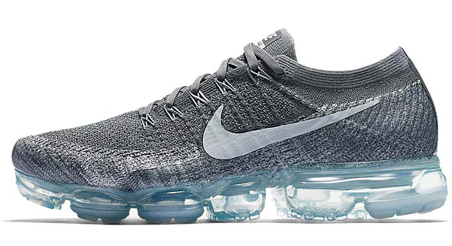 "NIKE AIR VAPORMAX ""ASPHALT"" [DARK GREY / BLACK-WOLF GREY-PURE PLATINUM] 849558-002"
