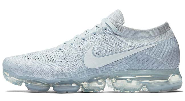 NIKE AIR VAPORMAX FLYKNIT [PURE PLATINIUM / WHITE-WOLF GREY] 849558-004