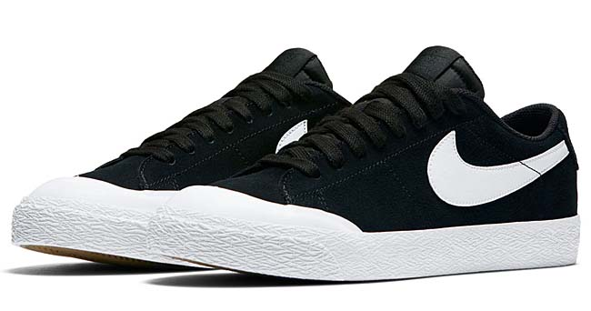 NIKE SB BLAZER ZOOM LOW XT [BLACK / WHITE-GUM LT BROWN-WHITE-WHITE] 864348-019