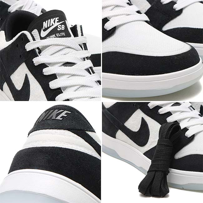"NIKE SB ZOOM DUNK LOW ELITE QS ""Oskar Rozenberg"" [BLACK / BLACK-WHITE-CLEAR] 877063-001"