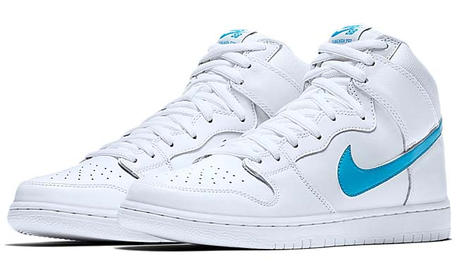 NIKE SB DUNK HIGH TRD QS RICHARD MULDER [WHITE / ORION BLUE-WHITE-WHITE] 881758-141